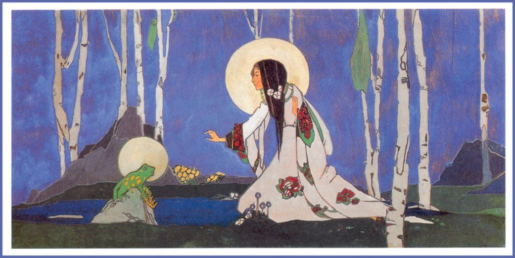 Jessie Marion King, The Frog Prince, 1913